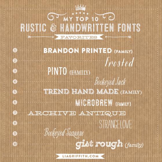 My top ten favorite rustic and handwritten fonts top 10 rustic handwritten fonts stopboris Gallery
