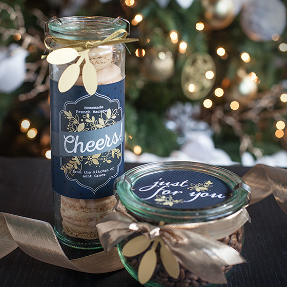 holiday food gift labels lia griffith