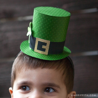 cf7d9f11c9d Leprechaun Top Hat Instructions - Lia Griffith
