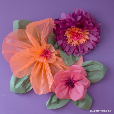 Diy tutorials for handmade tissue paper flowers jumbo tissue paper flowers mightylinksfo