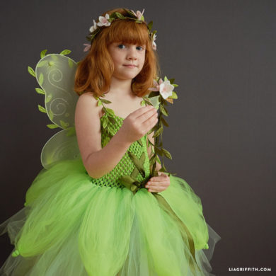 Discover easy diy costumes for your halloween birthday or holiday party kids diy fairy costume solutioingenieria Image collections