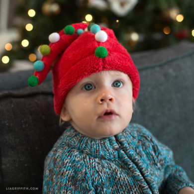 Simple clothing sewing patterns and tutorials for beginners diy elf and santa hats solutioingenieria Choice Image