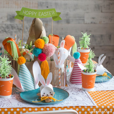 Kids Easter Table Seen On The Today Show