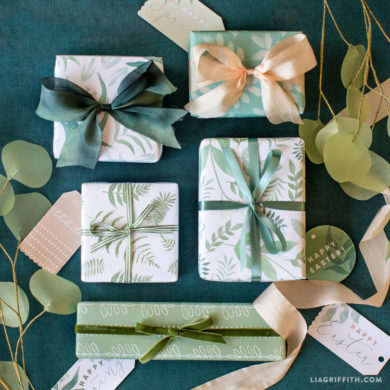 100s of gorgeous printable gift wrapping sheets and gift wrapping botanical gift wrap and gift tags negle Images