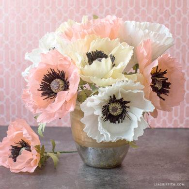 Paper flowers videos lia griffith mightylinksfo