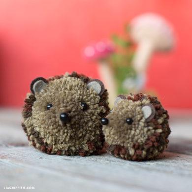Yarn Pom Pom Animals Kids Craft Lia Griffith