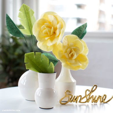 Diy tutorials for handmade tissue paper flowers tissue paper cajun hibiscus flower mightylinksfo