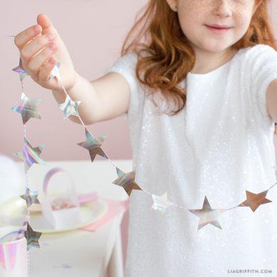 Unicorn Party Confetti SVG - Lia Griffith