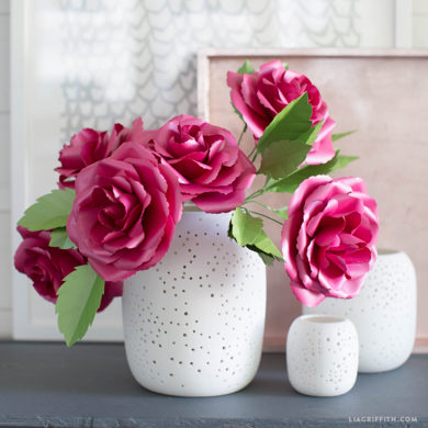 298 paper flower tutorials that you can follow today full bloom paper garden rose all paper flowers mightylinksfo