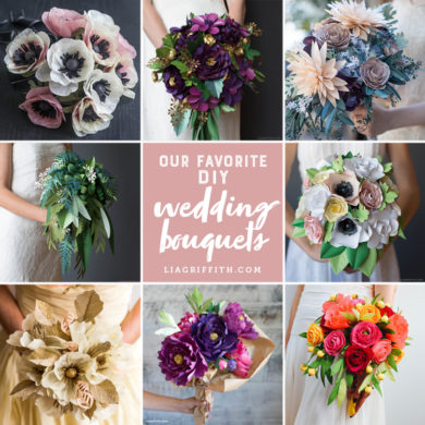Patterns and tutorials to make paper wedding flowers at home paper wedding bouquets round up paper wedding flowers mightylinksfo