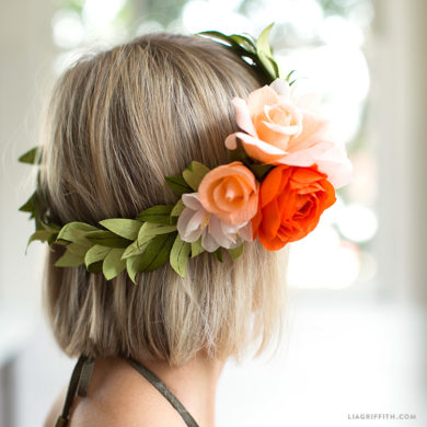 Crepe paper wreaths lia griffith mightylinksfo