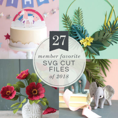 Patterns and tutorials to make paper wedding flowers at home 27 most popular svg cut files of 2018 mightylinksfo