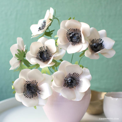 137 paper flowers with diy templates and tutorials frosted paper marianne anemone frosted paper flowers mightylinksfo