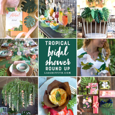 86 diy wedding decorations to make your special day one to remember diy tropical bridal shower ideas solutioingenieria Image collections