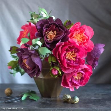 151 stunning crepe paper flowers with easy diy tutorials mightylinksfo