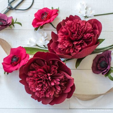 122 Stunning Crepe Paper Flowers With Easy Diy Tutorials