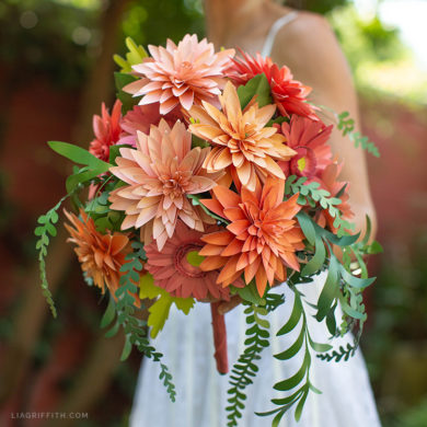 Patterns And Tutorials To Make Paper Wedding Flowers At Home